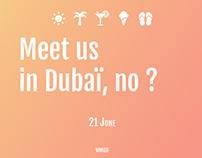 Meetup in Dubaï
