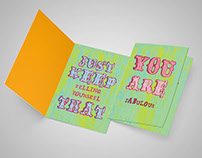 Greeting Cards with attitude