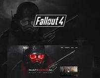 Fallout 4 Landing Page