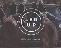 Leg Up Fashion Brand Identity