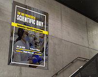 Scientific Day- Event Poster for Cairo University