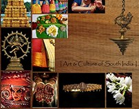 Art and Culture of South India - Woven Design.
