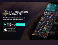 Lol Champion Manager (UI/UX) [Android + iOS]