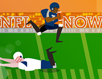 NFL // NFL Now logo animation