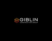 Giblin Construction Group 〰️ Brand identity design