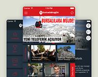 BursadaBugun News App