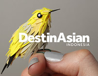 Destinasian Magazine - Editorial Illustrations