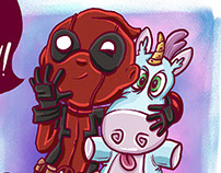 Deadpool - It`s so fluffy!