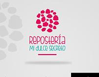 Logo Reposteria Mi Dulce Secreto