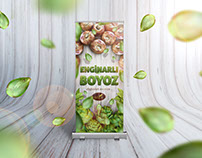 Enginarlı Boyoz Roll Up Banner Design