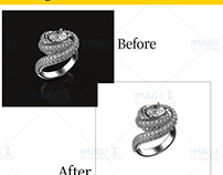 Jewelry Image Background remove
