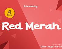 Red Merah Font