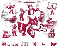 FunPR - mascot