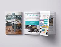 Real Estate Multiple Page Brochure