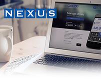 Nexus App Website