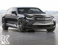 Chevrolet Camaro Sedan & SUV EV 2024