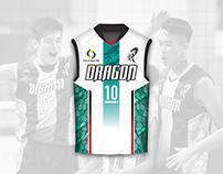 Dragon Team Volleyball Club - Jersey