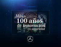 MERCEDES BENZ | Innovación en Seguridad | 1893-2017