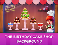 Background for Special Birthday Event
