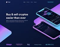 Illustration - Cryptocurrency Exchange Platform
