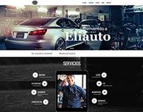 Diseño Web - ELIAUTO