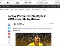 Jontay Porter Commitment Artwork