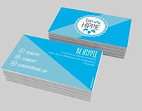 Business Card: Be Hippie