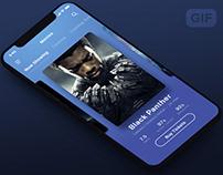 Movie App UI - Animation