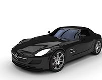 Mercedes SLS Car
