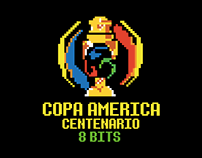 COPA AMERICA CENTENARIO 8 BITS