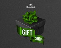 Heineken Gift Shop