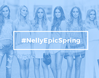 Graphic Design/Art Direction @nellycom #NellyEpicSpring