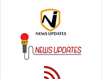 News Updates Logo Design