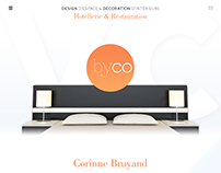 Interior Designer One Page Website