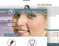 BL Dental Miami - UI/UX Design and Website