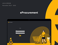 eProcurement System / UIUX Design