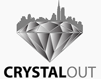 CrystalOut Logo Design