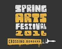 NWACC Spring Arts Festival T-shirt Design