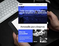PUEY | Digital Agency Website Development