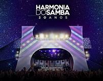 Site - Harmonia 20 Anos (conceitual)