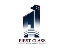 First Class Rental Service Branding