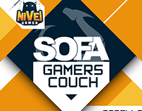 Nivel Gamer - SOFA GAMERS COUCH
