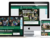 Admissions Site | Responsive Redesign