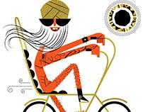 NYC Biker Man