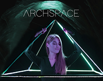ARCHSPACE identity, art-photography, art-installation