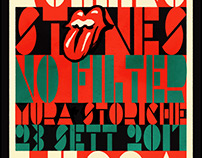 Rolling Stones - Lucca, Italy Event Poster