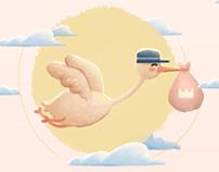 Invitación Baby Shower Ximena