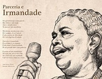 Cesária Evora drawing for the 2nd Edition of NósGenti
