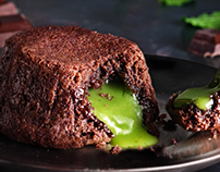 Mint Lava Cake