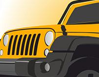 Jeep Wrangler Ilust